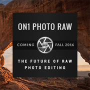 ON1 Photo RAW - Coming Fall 2016