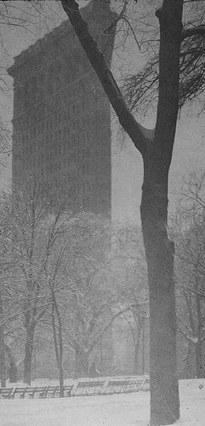 Flat Iron Building by Alfred Stieglitz