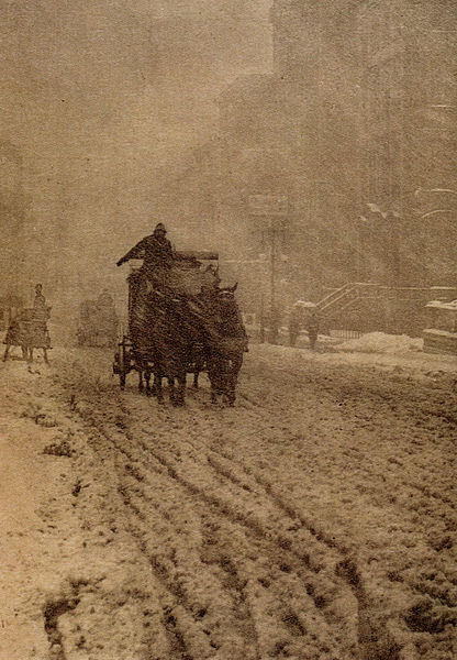 Winter by Alfred Stieglitz