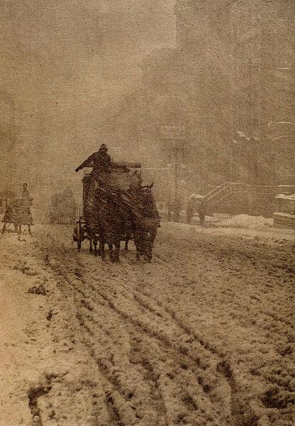 Winter by Alfred Stieglitz