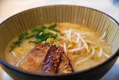 Famous Kyushu Pork Soup Ramen - Duck Duck Goose Yum Cha Silver AUD18