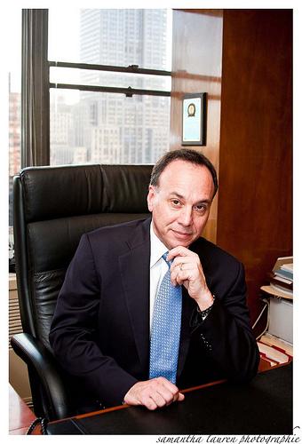 Formal business portrait