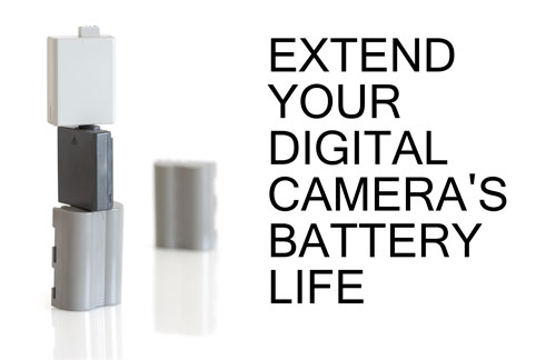 Extend your digital camera's battery life