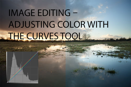 Image editing – adjusting color with the curves tool