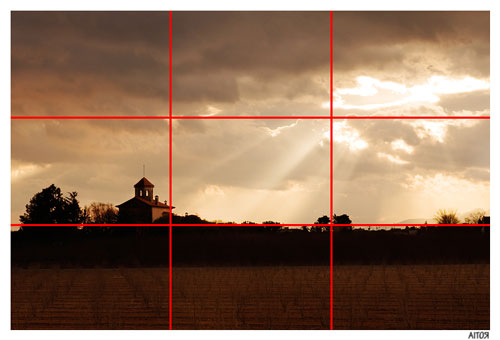 landscape photo - rule of thirds example