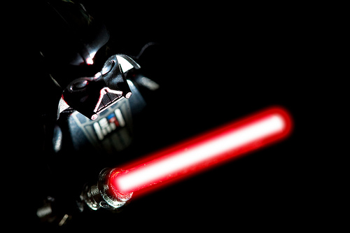 Darth Vader lego minifig macro photo