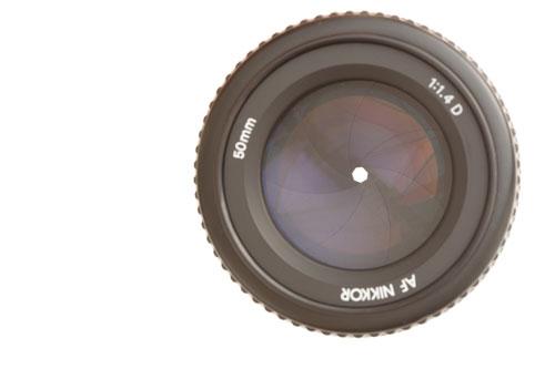 50mm/1.4 lens at f/16