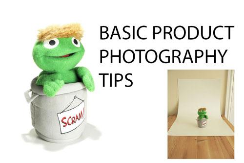 Basic Product Photography Tips