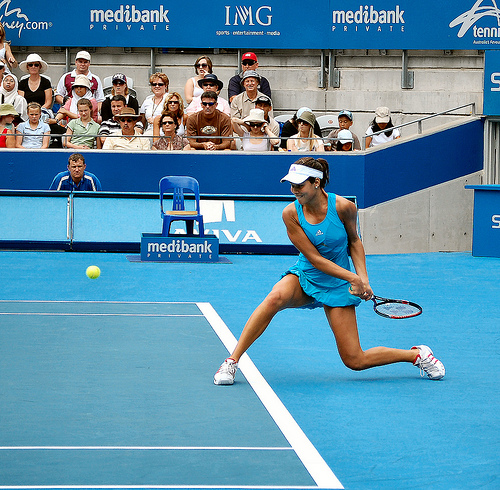 Ana Ivanovic - the backhand