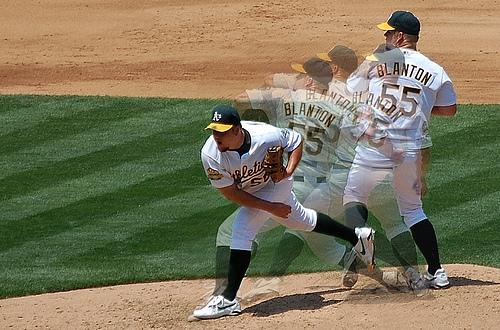 Joe Blanton multiple exposure pitch sequence