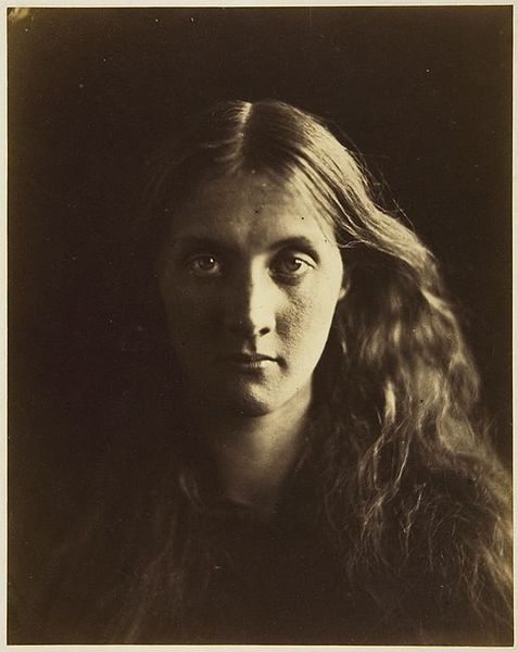 Portrait of Julia Prinsep Jackson by Julia Margaret Cameron (1867)