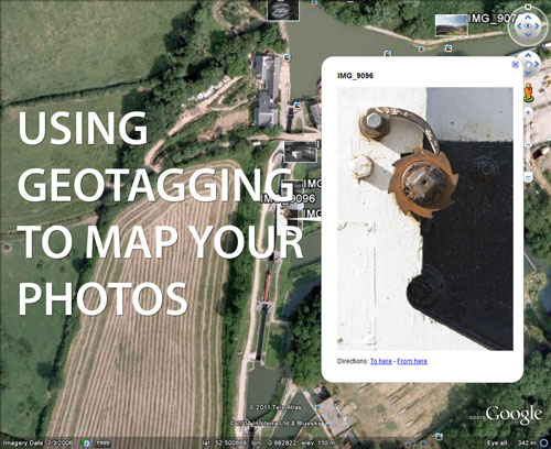 Using Geotagging to map your photos