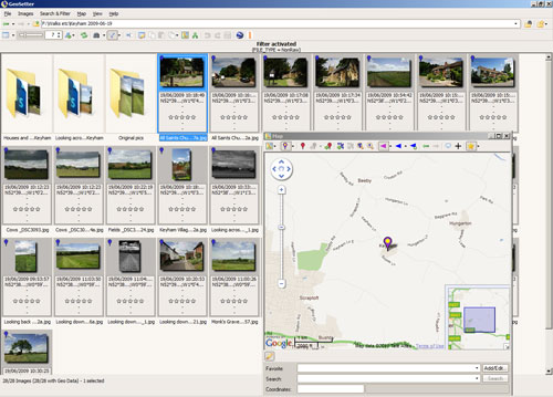 Geotagging Photos using Geosetter