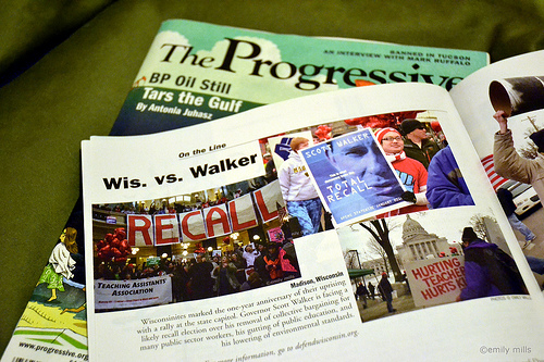 Photos published in magazine