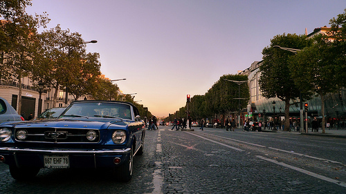 Ford Mustang - taken with an advanced compact camera