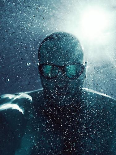 Spacedust - underwater portrait taken with waterproof compact camera