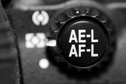 AE AF lock button