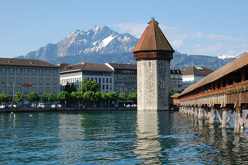 Kapellbrucke in Lucerne (original)