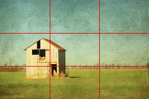 Simple by Robb North with rule of thirds gridlines added