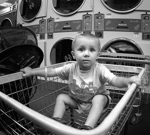 Lil' baby laundry boy part II