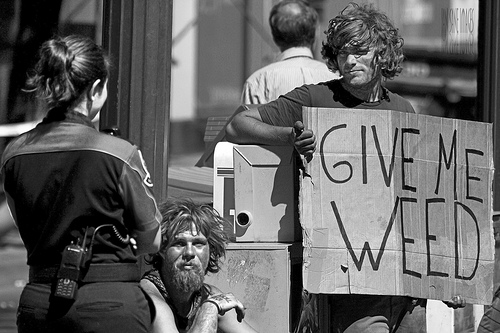Give Me Weed - Street photography