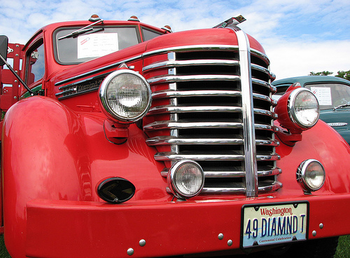"1949 Diamond T - ""The Cadillac of Trucks"""