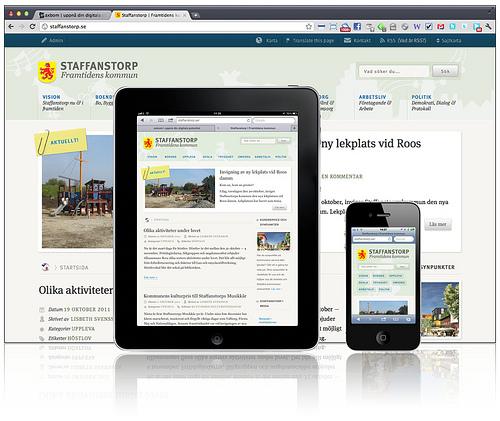 Staffanstorp — Responsive Web Design
