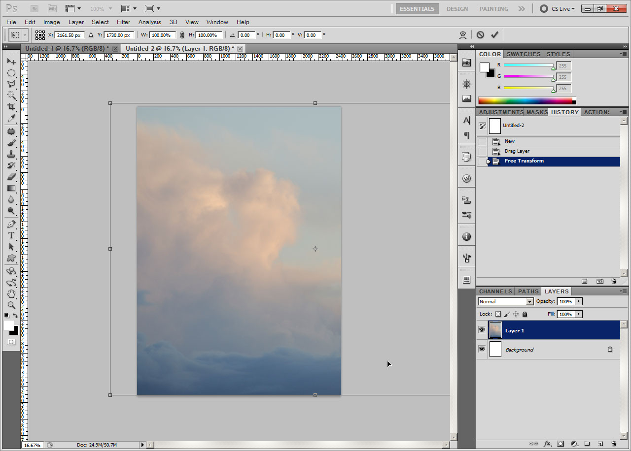 how to open fits files in photoshop