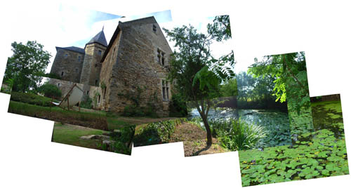 French Chateau panography