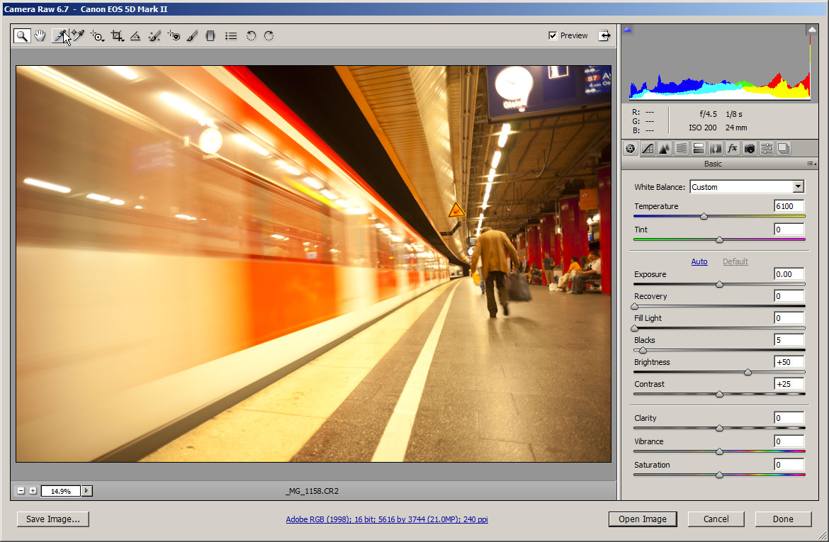 How to process RAW images