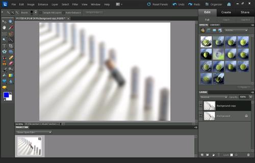 Image after applying a gaussian blur filter