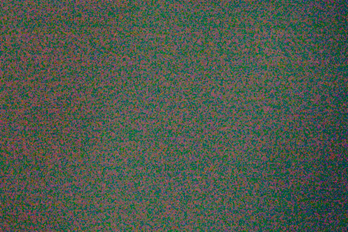 Example of color noise