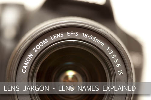 Lens jargon - Lens names and nomenclature explained