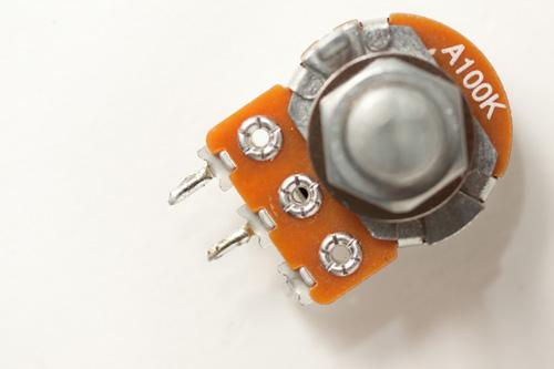 100k log scaled potentiometer for Vivitar 283 variable power modification