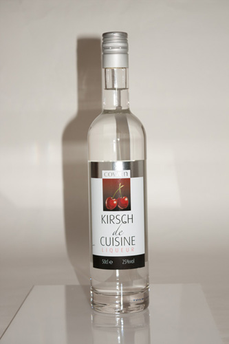 Product photo of bottle taken with a DSLR using the built in pop-up flash