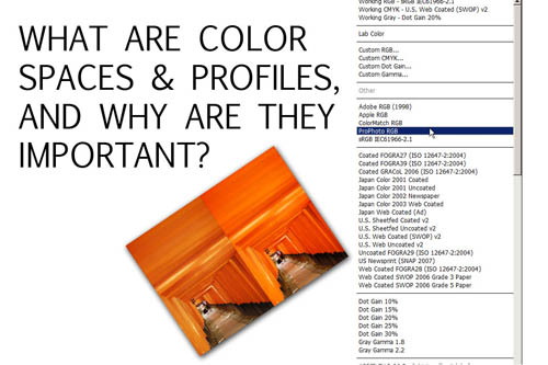 What are color spaces & color profiles and why are they important?