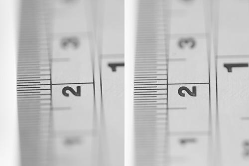 Depth of Field compared - Full Frame vs. APS-C camera