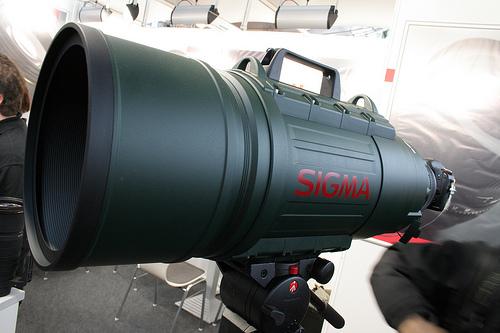 Sigma 200-500mm f/2.8 super telephoto giant lens