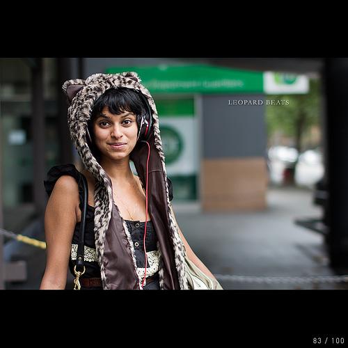 Leopard beats