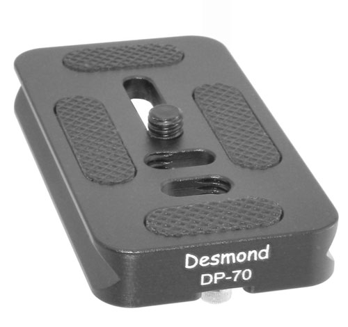 Arca Swiss compatible quick release plate