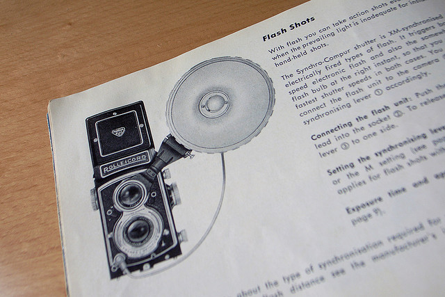 Rolleicord Vb camera manual