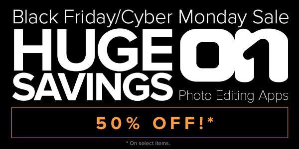 onOne software Black Friday / Cyber Monday deals for Photographers