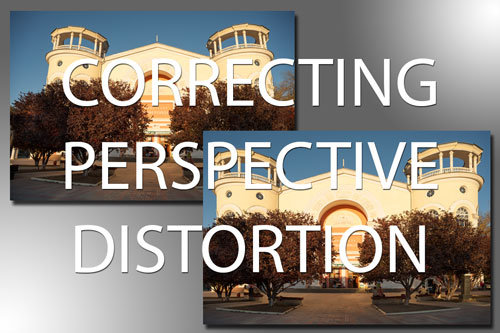 Correcting perspective distortion