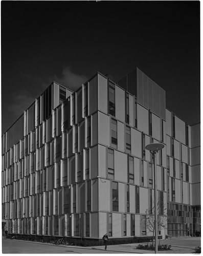 Algonquin Trades Building - perspective corrected photo taken using a large format view camera with movements