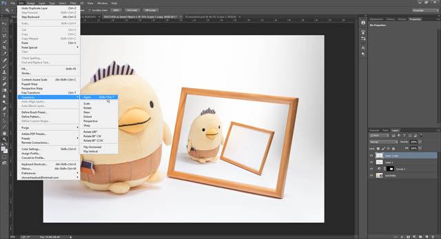 Photoshop CC Transform Again command
