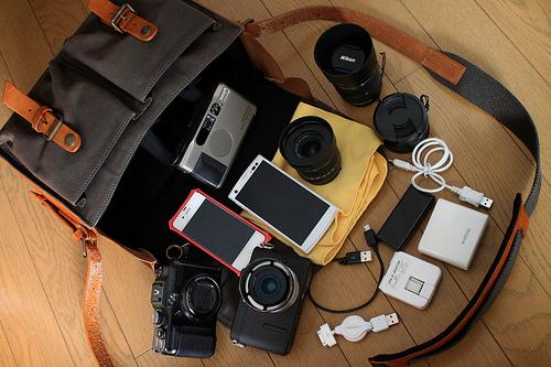 Camera bag that doesn't look like a camera bag
