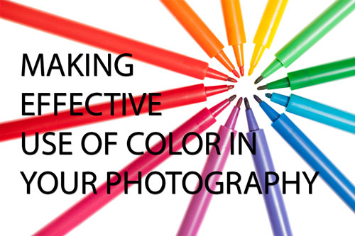 Making effective use of color in your photography