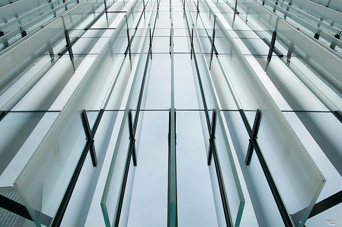 Lines in architecture minimalistic photo