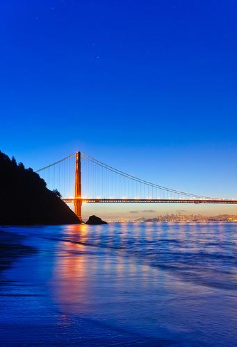Golden Gate Bridge, San Francisco at Dawn