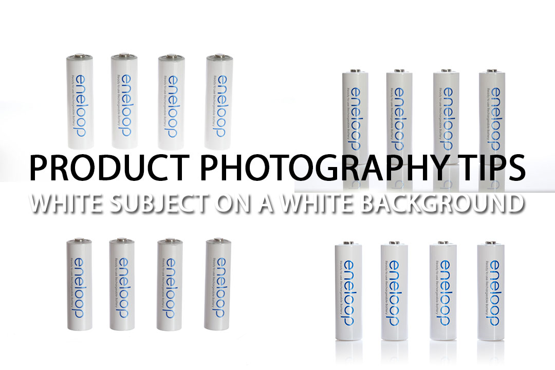 Product Photography Tips – White subject on a white background